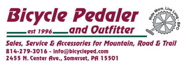 Bicycle Pedaler and Outfitter Sales Service & Accessories for Mountain, Road & Trail